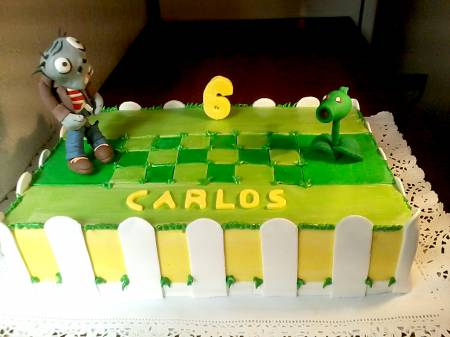 Torta Plants vs. Zombies