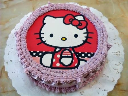 Fototorta Hello Kitty